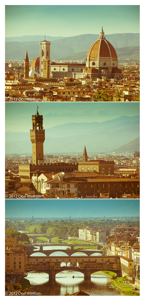 Duomo, Ufizzi, Arno River, Florence, Italy