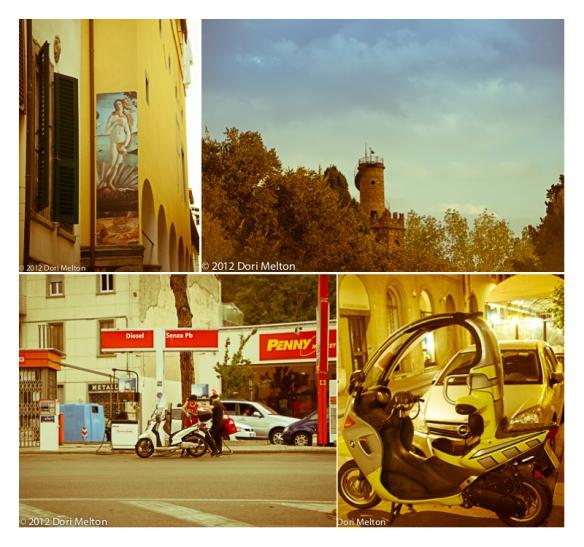 Street scenes of Rome