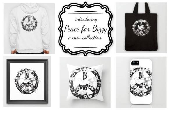 Peace for Bizzy collection